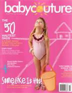 Baby Couture Magazine Cover
