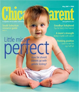 Chicago Parent, CosmoTot Cover